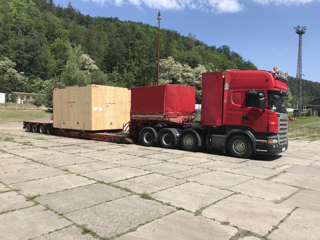 Nadrozměrná přeprava / Oversize Transport